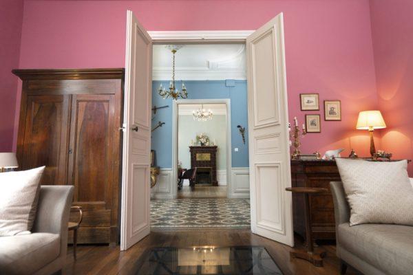 Salon maison bourgeoise Bordeaux 33