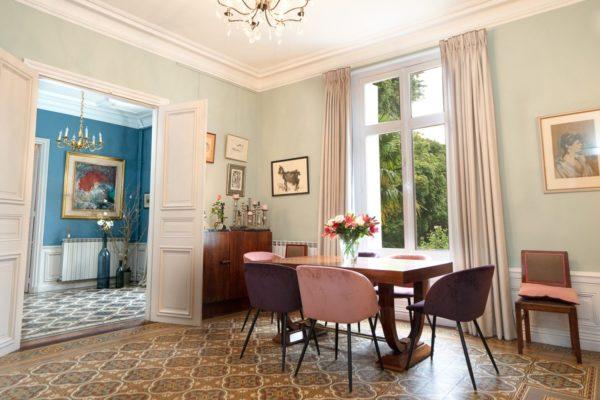 idée décoration salle a manger grande demeure