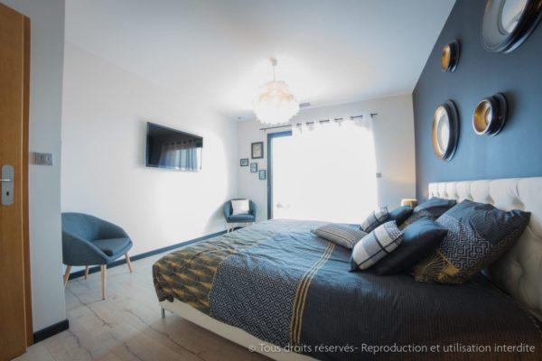 chambre style contemporain design intérieur