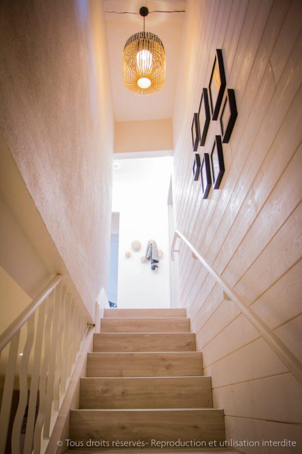 aménagement escalier architecte interieur