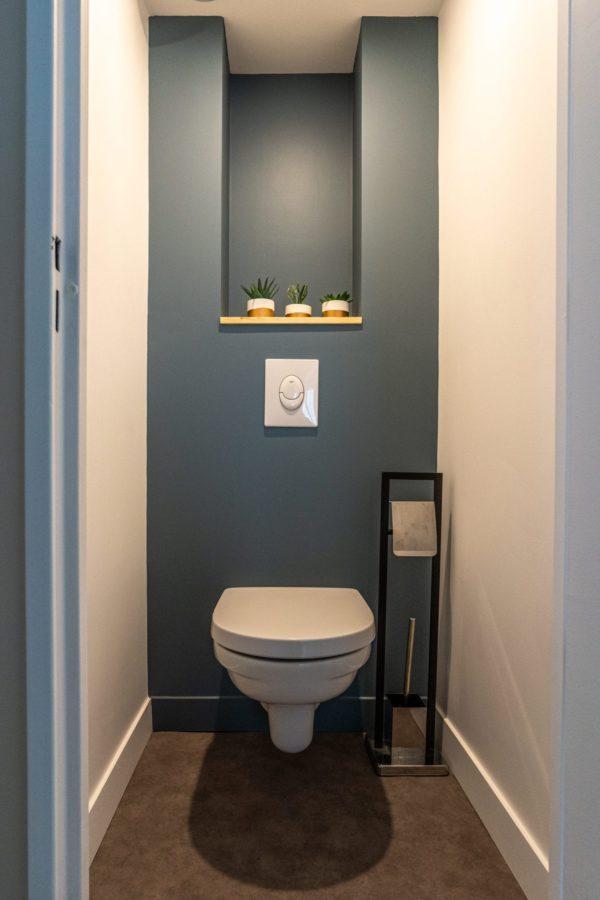 aménagement toilette appartement étudiant