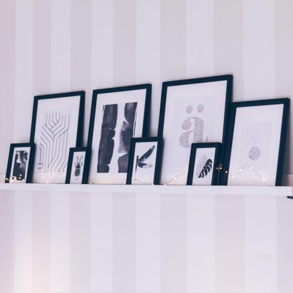 éléments décorations appartement