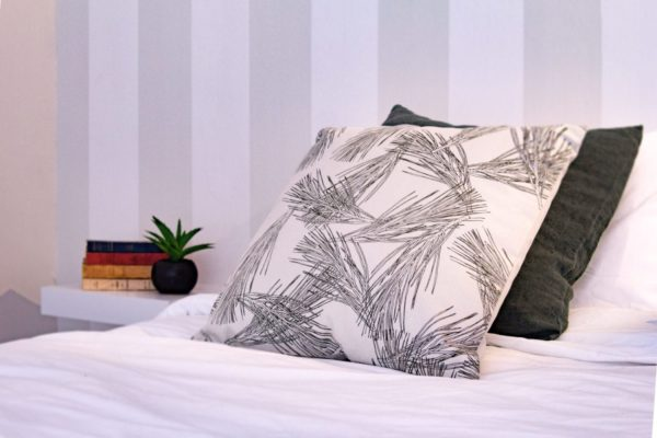 motif textile chambre appartement