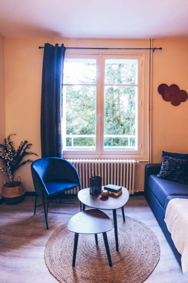 décoration appartement airbnb deux pièces