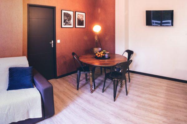 restauration appartement contemporain air bnb