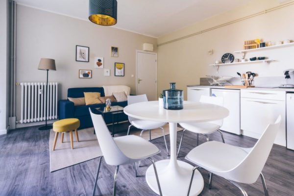 appartement décoration contemporaine