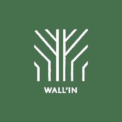 logo wall in