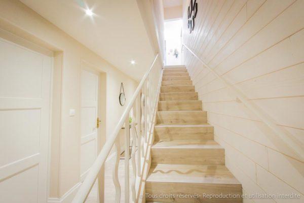 aménagement escalier architecture