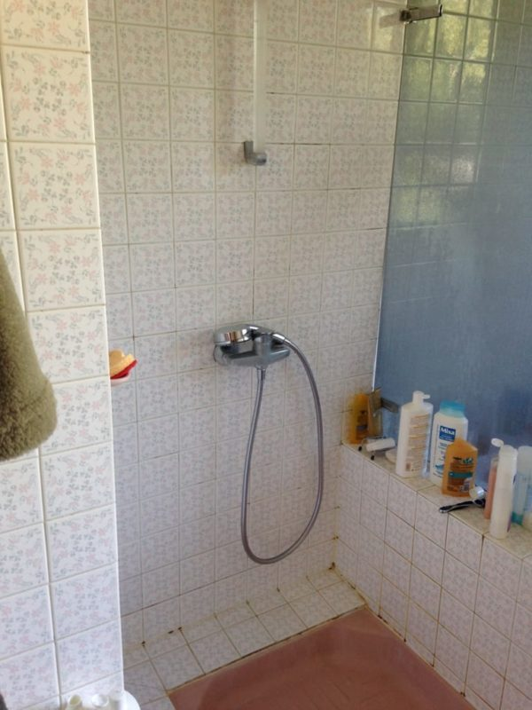 receveur douche ancien