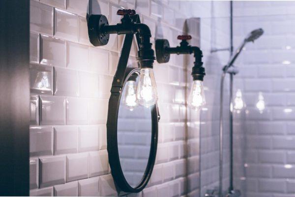 style industriel décoration salle de bain
